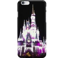 Cinderella's Castle in December iPhone Case/Skin