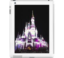 Cinderella's Castle in December iPad Case/Skin