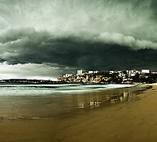 Freshwater Storm, Northern Beaches by Matt  Lauder