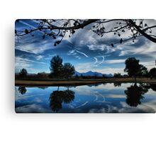Artistic Sky Canvas Print