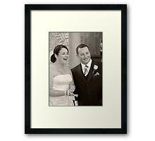 Mr and Mrs Framed Print