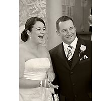 Mr and Mrs Photographic Print