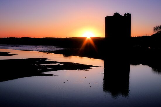 Belvelly Castle Sunrise by Callanan