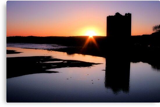 Belvelly Castle Sunrise by Callanan