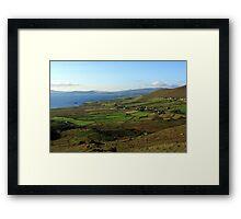 Along The Kerry Way Ireland Framed Print