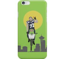 Michael Bennett Does Victory Lap With ET iPhone Case/Skin