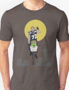 Michael Bennett Does Victory Lap With ET Unisex T-Shirt