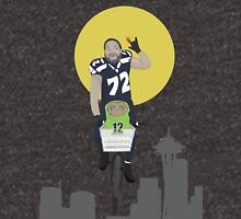 Michael Bennett Does Victory Lap With ET Hoodie