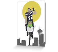 Michael Bennett Does Victory Lap With ET Greeting Card