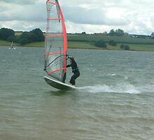 Windsurfer 1 by Lesley White