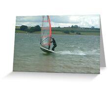 Windsurfer 1 Greeting Card