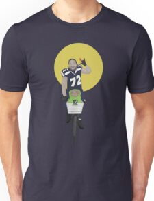 Michael Bennett Does Victory Lap With ET Unisex T-Shirt
