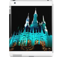 Cinderella's Castle at Christmas Time iPad Case/Skin