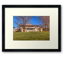 The Westcott House - Springfield, Ohio - designed by Frank Lloyd Wright Framed Print