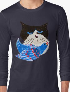 The Bird Cat Long Sleeve T-Shirt