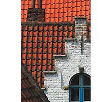 Belgium - Brugge 01 Photographic Print