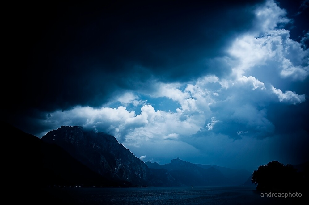 behind the clouds III by andreasphoto