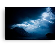 behind the clouds III Canvas Print