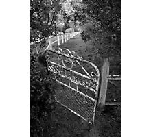 The front gate Photographic Print