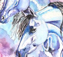 Blue Arabians Sticker