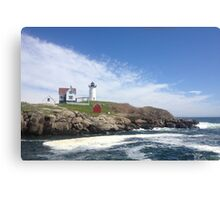 Nubble Light, Cape Neddick Canvas Print