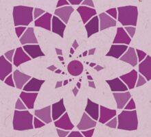 Sahasrara - The Crown Chakra Mandala Sticker