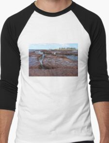 Bombo Rock Platform Men's Baseball ¾ T-Shirt