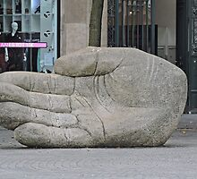 Sculpture of the Hand. by Margaret  Hyde