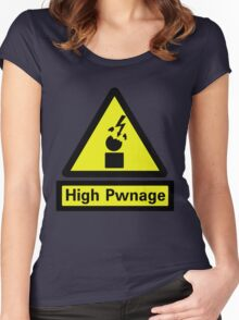 High Pwnage Women's Fitted Scoop T-Shirt