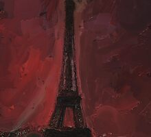 Eiffel By Red by Alan Findlater