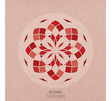Muladhara - The Root Chakra Mandala Photographic Print