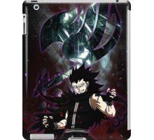 Gajeel- Iron dragon slayer magic iPad Case/Skin