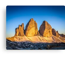 Tre Cime Part 2  Canvas Print