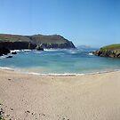 Ballyferriter Beach Panorama by Callanan