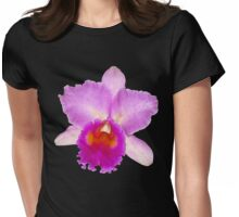 Orchid #7 Womens Fitted T-Shirt