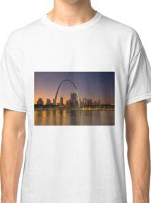 Twilight Falls over St. Louis Classic T-Shirt