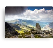 A view from Tryfan Metal Print