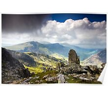 A view from Tryfan Poster