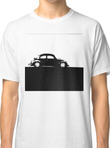 Volkswagen Beetle - Black on light Classic T-Shirt