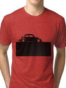 Volkswagen Beetle - Black on light Tri-blend T-Shirt