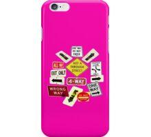 NOT A THROUGH STREET iPhone Case/Skin