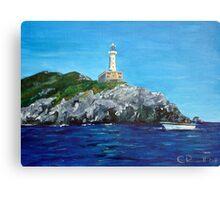 Punta Carena Lighthouse Canvas Print