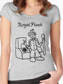 Royal Flush  Women's Fitted Scoop T-Shirt