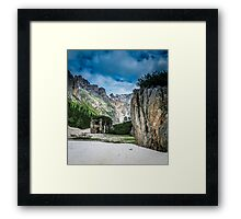Hidden Valley Framed Print