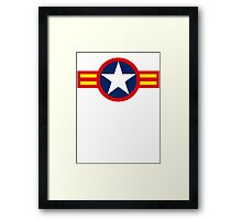 Vietnam Air Force Emblem Framed Print