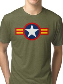 Vietnam Air Force Emblem Tri-blend T-Shirt
