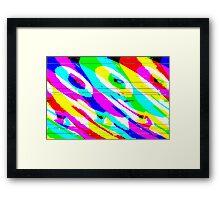 Colour Girl Framed Print
