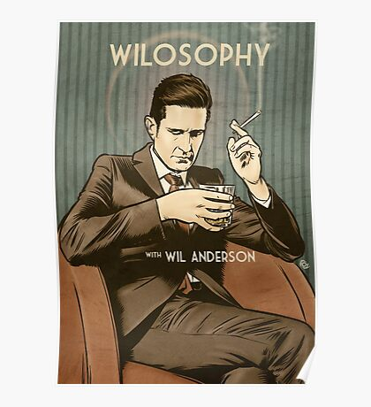 Wilosophy Poster Poster