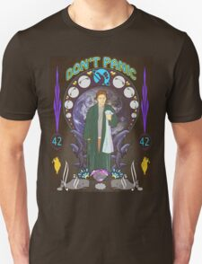 Art(hur) Nouveau - Hitchhikers Guide Unisex T-Shirt