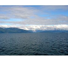 View from a whale watching excursion Photographic Print